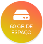 60 Gb space icon