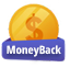 Selo MoneyBack Guarantee